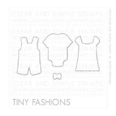 Tiny Fashions Die Cuts