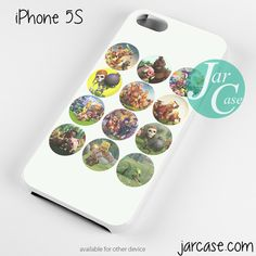Clash of Clans All Character Circle Moment Phone case for iPhone 4/4s/5/5c/5s/6/6 plus