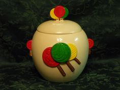 Lollipop Cookie Jar by McCoy