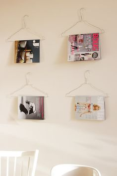 Practical and cheap way to organise your magazines =)