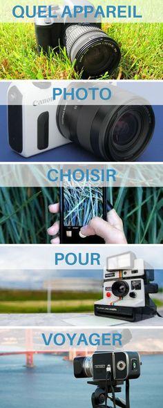 Vous partez en voyage ou en vacances ? Je vous guide pour l'achat de votre appareil photo pour votre périple. Le choix est immense entre reflex, compact, hybride, etc. #photo #photographie #voyage  photographie - appareil photo - reflex - compact - hybride