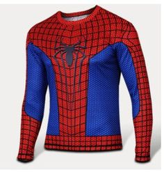 best loved 8960f 714e0 Spiderman Thermal T Shirt