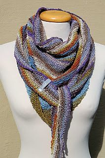 Can be knit with fingering weight yarn, one skein.