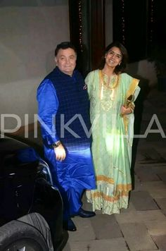 Bollywood couple seen in Diwali party