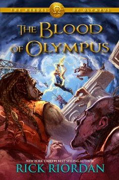 Blood of Olympus, Four Stars, Heroes of Olympus Series, Mythology, Rick Riordan, Series, Young Adult
