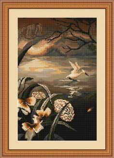 By the Lake - Luca-S Cross Stitch Kit