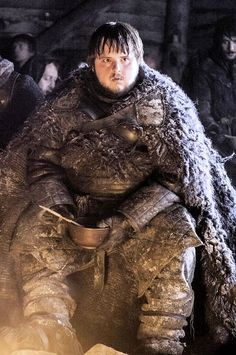 """Game of Thrones Samwell """"Sam"""" Tarly (John Bradley), member of the Night's Watch, best friend to Jon Snow and killer of a White Walker. A brave man."""