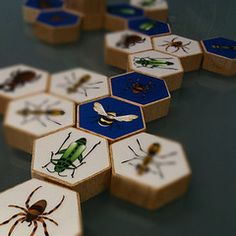 Hive, Original wooden game