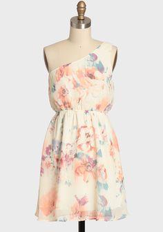 Fading Dreams Floral Dress