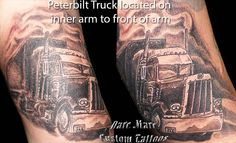 Semi Truck Tattoos Truck tattoo designs peterbilt