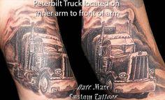 Semi Truck Tattoos Truck tattoo designs peterbilt