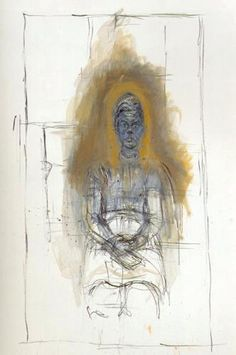 Giacometti Alberto Caroline Auteur - may we learn from his hand how to move the medium rapidly. Alberto Giacometti, Giacometti Paintings, Figure Painting, Painting & Drawing, Antoine Bourdelle, Kunst Online, Lucian Freud, Illustration Art, Illustrations