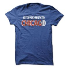 Force Be With Chicago #sport #tshirt