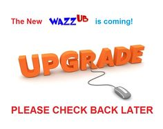 The NEW WAZZUB community page is on its way...HURRAY!!! ;-)