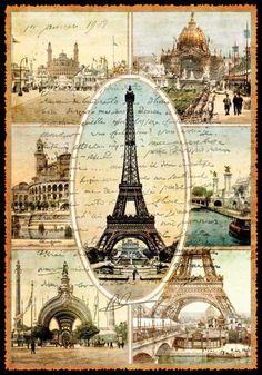 La vieille ville de Paris