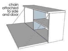 Home-Dzine - DIY mini bar cabinet