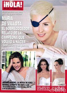 Las portadas de las revistas del corazón de esta semana: María de Villota en la portada de ¡HOLA!