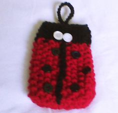 Hey, I found this really awesome Etsy listing at https://www.etsy.com/listing/174340892/lady-bug-hand-knit-cell-phone-case-with