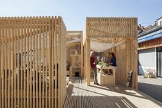 The Best Student Design-Build Projects Worldwide 2016,Kitchen21 (TU Wien Institute for Architecture and Design)Kitchen21 (TU Wien Institute for Architecture and Design). Image © Leonhard Hilzensauer