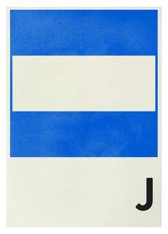 J nautical flag