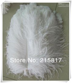 Wholesale Ostrich Feathers - Buy Free Shipping 100pcs/lot 8-10 White Ostrich Feathers Centerpieces For Weddings OF037, $0.78 | DHgate