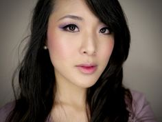 From Head To Toe: Romantic Violet Makeup Tutorial