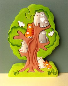 Seven Cats in a Tree Puzzle — Jupiter's Child