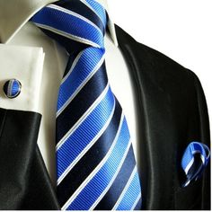 Paul Malone Necktie, Pocket Square and Cufflinks 100% Silk Blue Paul Malone,http://www.amazon.com/dp/B002SIGSW6/ref=cm_sw_r_pi_dp_pYUEtb1NB9P50Z83