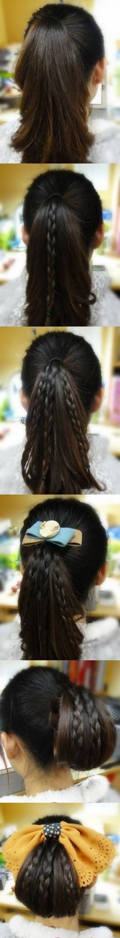 Simple and beautiful updo #hair #pictorial
