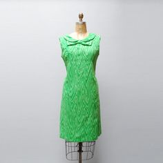 Wood Grain Dress Green now featured on Fab.