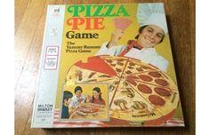 Vintage Pizza Pie Yummy Rummy Game in Original Box by Milton Bradley 70s Board Games, Vintage Board Games, Family Game Night, Family Games, Retro Toys, Vintage Toys, Pie Game, Pizza Games, Pen And Paper Games