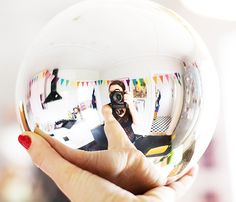 Photograph your home in a bauble