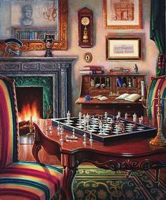 Judy Gibson ~ A Game of Chess
