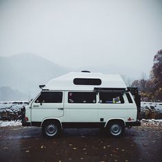 "liveworkwander: "" Our sweet beloved friend. Photo taken Nov 1 in North Carolina #vwvan #vwbus #volks #adventuremobile #campvibe #vanspotting #surfvan #hippievan #vwporn #vanlife #vanagonlife #vanagon..."