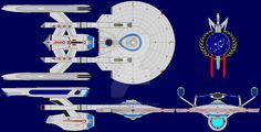 Ship Profile Part 3: USS Resilient by kavinveldar by galaxy1701d