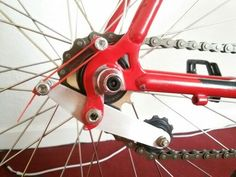 DIY chain tensioner - for certain bike frames there is no wiggle room for chain length and the chain is inevitably too short or too long and falls off because of a lack of tension. This is something i look forward to trying