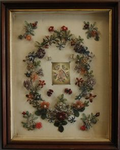 Victorian Mourning Wreath