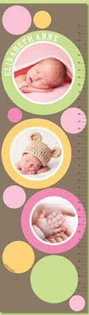 Picture Me Personalized Growth Chart...so cute! Hope I win gift card :) so I can get one