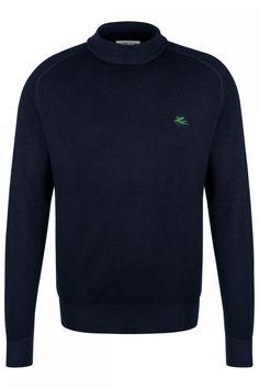 Etro Herren Rollkragen Pullover Dunkelblau Marine | SAILERstyle Sweatshirts, Sweaters, Bordeaux, Fashion, Turtleneck, Blouse, Mens Turtleneck, Trousers, Gowns