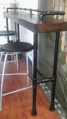 Industrial Pipe Sofa Table