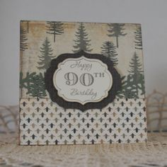 90th Birthday & MOJO Monday 308 by dloates2005 - Cards and Paper Crafts at Splitcoaststampers