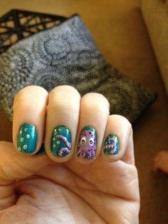 Octopus Nails by jkserig