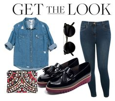 """""""Look under 150$"""" by imanko on Polyvore featuring mode, Sans Souci, M&Co, Zara et Boohoo"""