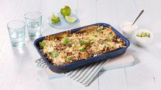 Meksikansk Lasagne - Oppskrift fra TINE Kjøkken Tex Mex, Quiche, Macaroni And Cheese, Breakfast, Ethnic Recipes, Food, Meat, Garden, Party