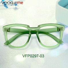 cc3eb830fcd Marta Rectangle Green Eyeglasses These rectangle glasses are made of  durable plastic with a charming look