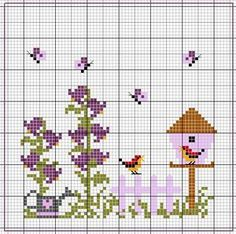 Igolkin Area / The Needle Nook: Scheme house / The House Patterns Cross Stitch Freebies, Cross Stitch Cards, Cross Stitch Samplers, Cross Stitch Flowers, Cross Stitching, Cross Stitch Embroidery, Embroidery Patterns, Cross Stitch Designs, Cross Stitch Patterns