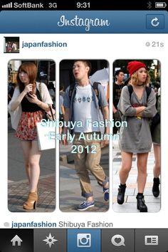 Shibuya fashion trends early autumn 2012 #fashioninjapan.com