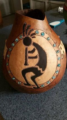 GOURD LIGHT by ArtCreationsbyLola on Etsy