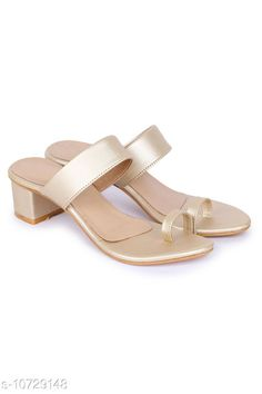 Checkout this latest Heels & Sandals Product Name: *Shimari Casual Heels* Material: PU Sole Material: TPR Fastening & Back Detail: Slip-On Pattern: Solid Multipack: 1 Sizes:  IND-2 (Foot Length Size: 21 cm)  IND-3 (Foot Length Size: 21.6 cm)  IND-4 (Foot Length Size: 22.4 cm)  IND-5 (Foot Length Size: 23 cm)  IND-6 (Foot Length Size: 23.6 cm)  IND-7 (Foot Length Size: 24.3 cm)  IND-8 (Foot Length Size: 25.1 cm)  Country of Origin: India Easy Returns Available In Case Of Any Issue   Catalog Rating: ★3.9 (211)  Catalog Name: Latest Trendy Women Heels & Sandals CatalogID_1972307 C75-SC1061 Code: 044-10729148-2301