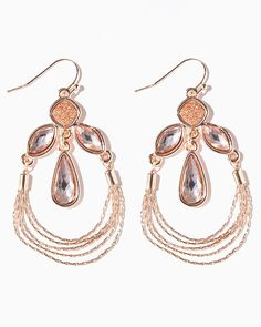 STARDUST DANGLY DELIGHT EARRINGS $8.00 $4.80 UPC: 400000353746 COLOR  Rose Gold
